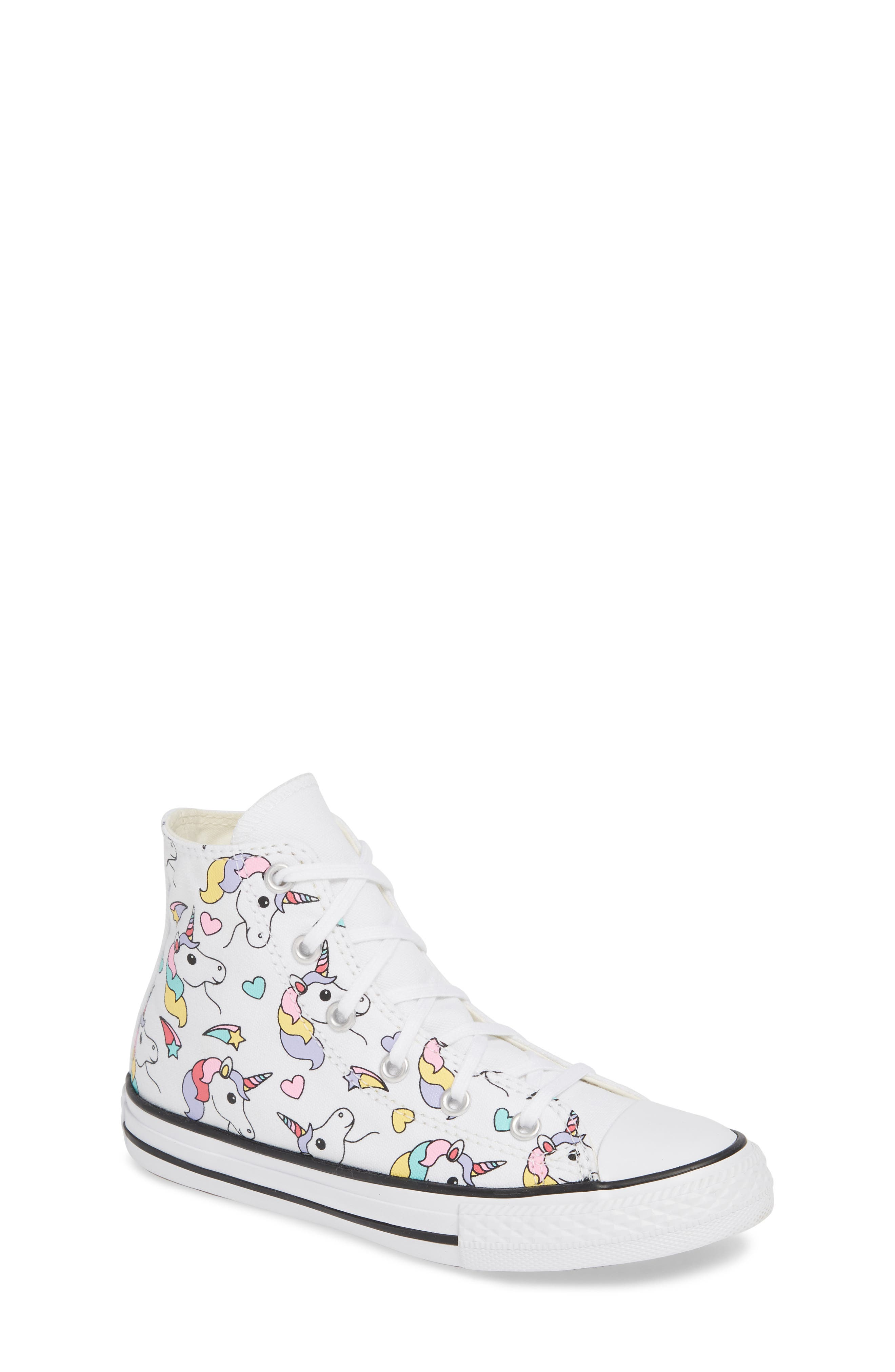 Unicorn White Rainbow Sneakers Shoes Girls Toddlers