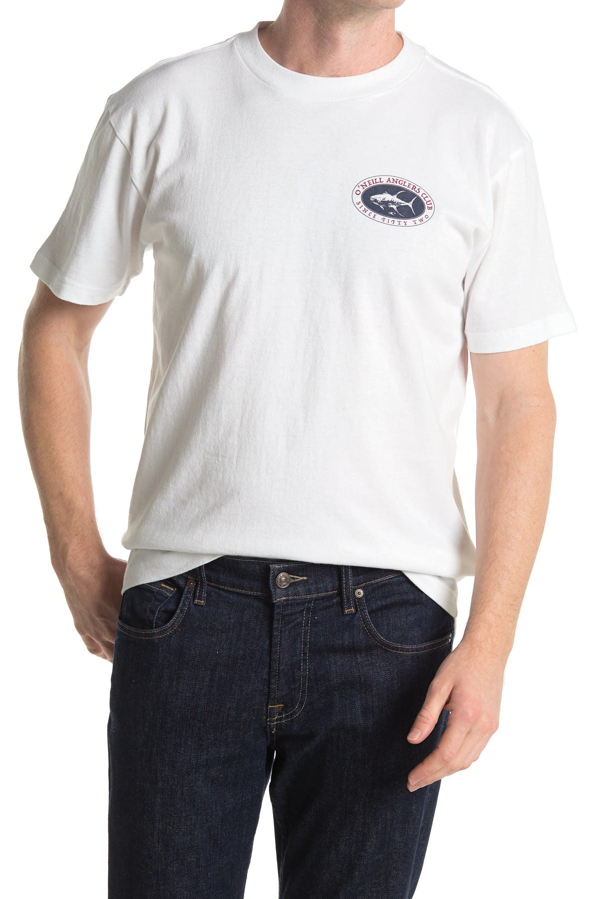 Image of O'Neill Anglers Club Crew Neck T-Shirt