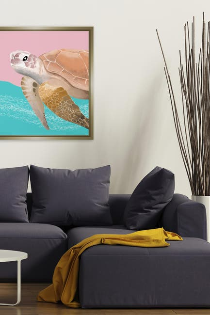 Image of PTM Images Sea Turtle Gallery Wrapped Giclee Print