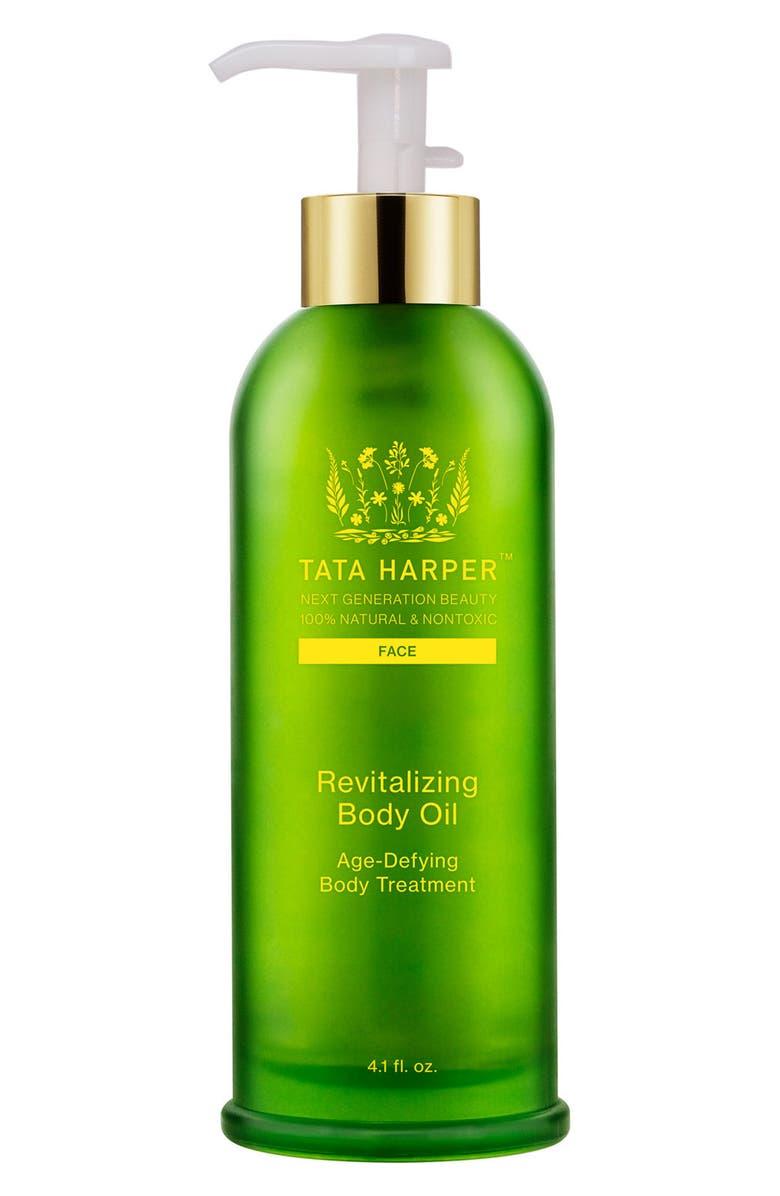 TATA HARPER SKINCARE Revitalizing Body Oil, Main, color, NO COLOR