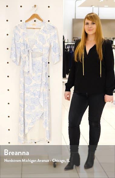 Kellen Faux Wrap Cover-Up Dress, sales video thumbnail