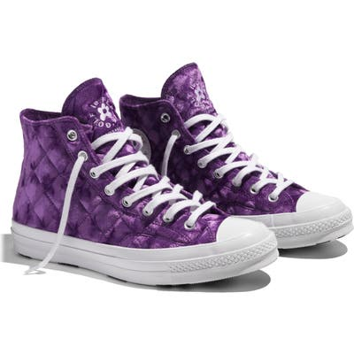 Converse X Golf Le Fleur* Chuck 70 High Top Sneaker, Purple