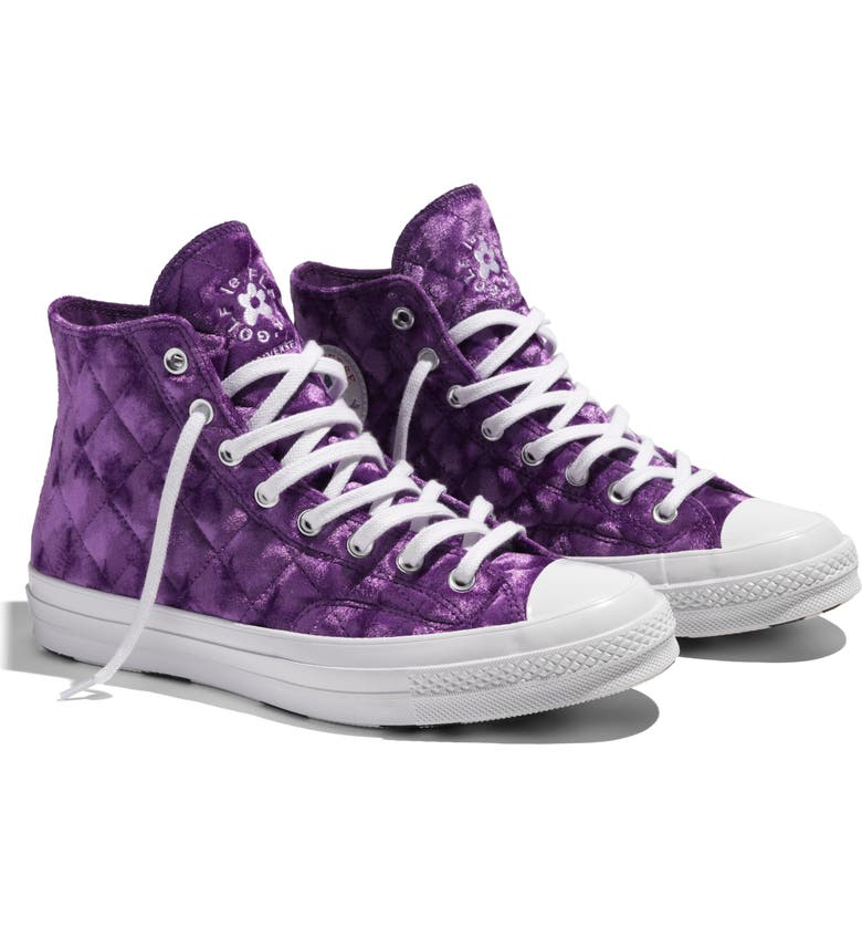 CONVERSE x GOLF le FLEUR* Chuck 70 High Top Sneaker, Main, color, 511