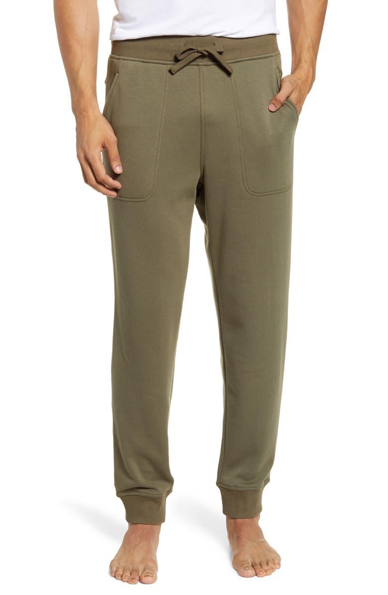 UGG<SUP>®</SUP> Hank Jogger Pants, Main, color, GREEN