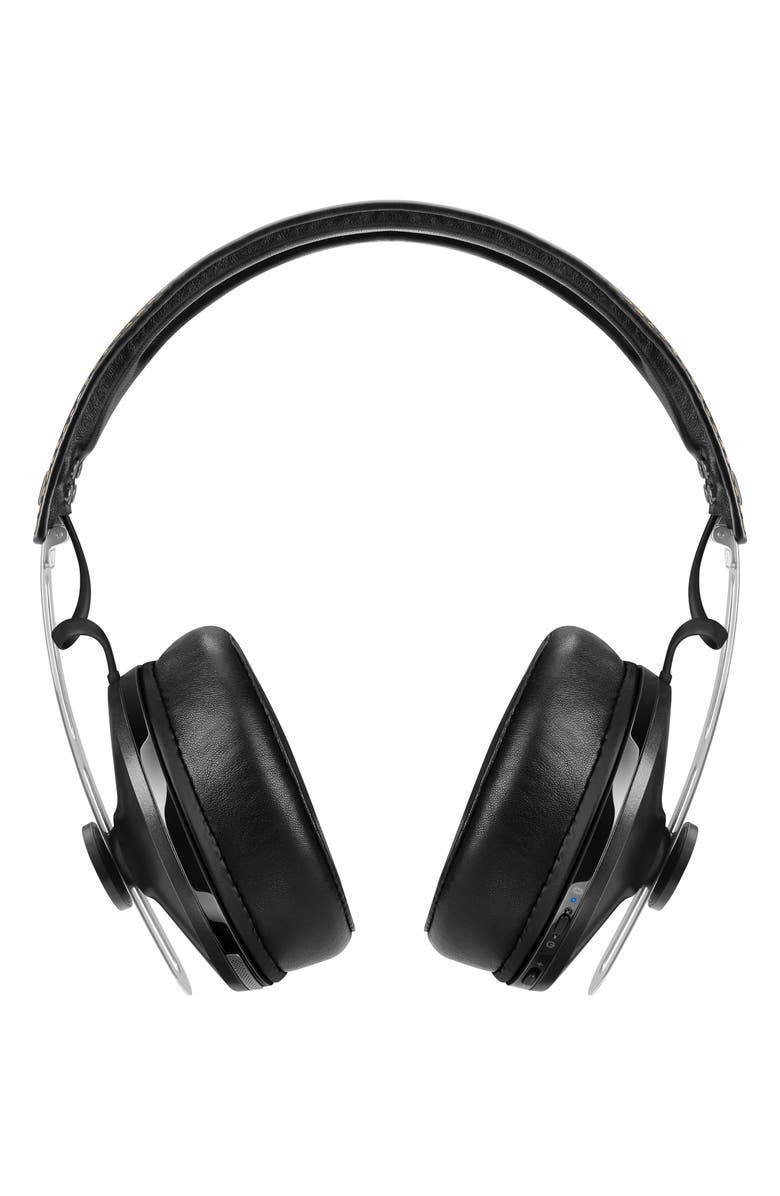 SENNHEISER Momentum 2 Bluetooth<sup>®</sup> Wireless Noise Canceling Headphones, Main, color, BLACK
