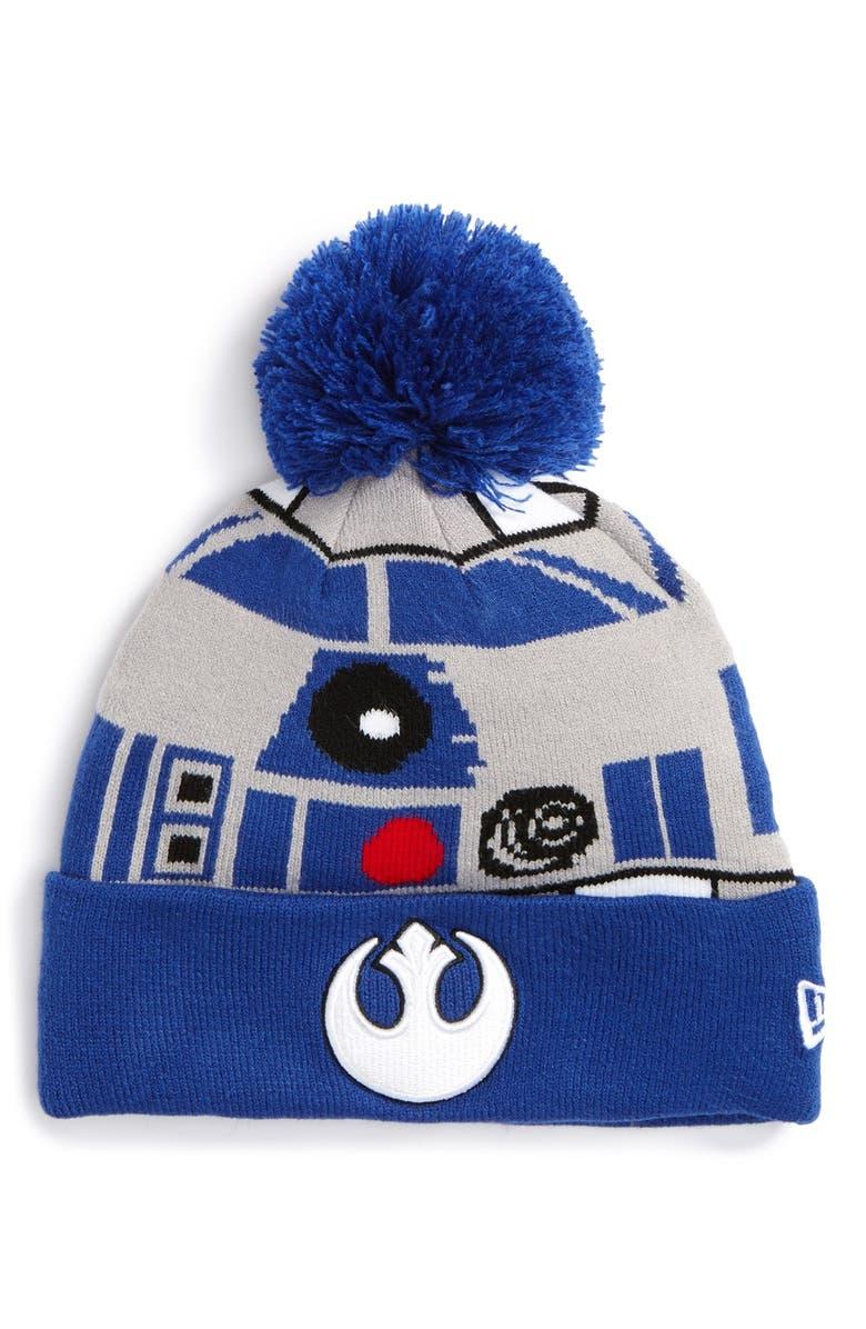1369196cc New Era Cap 'Star Wars™ - R2D2' Pompom Knit Beanie | Nordstrom