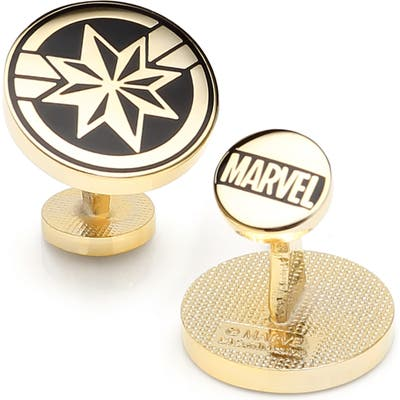 Cufflinks, Inc. Captain Marvel Cuff Links