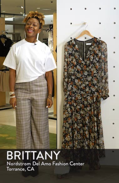Handkerchief Hem Maxi Dress, sales video thumbnail