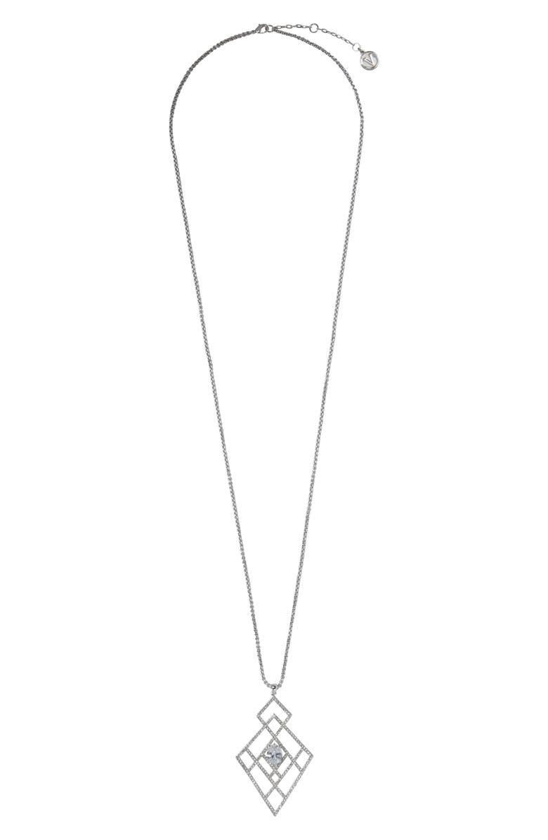 VINCE CAMUTO Drama Pendant Necklace, Main, color, 041