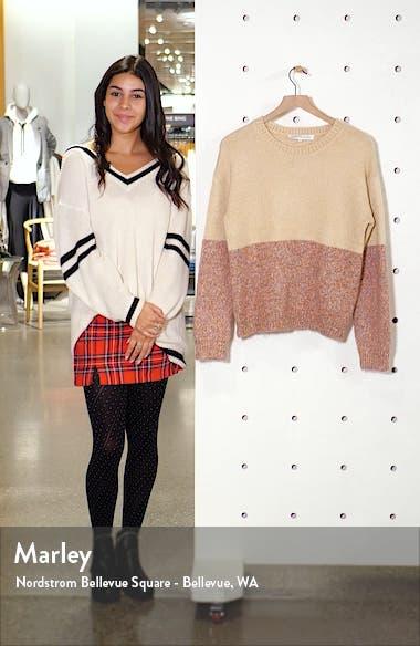 Carmel Colorblock Sweater, sales video thumbnail