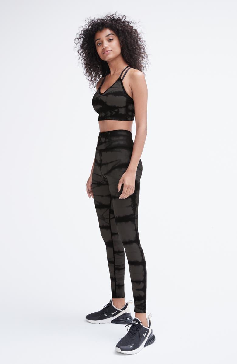 ZELLA Tie Dye Seamless Ankle Leggings, Main, color, 001