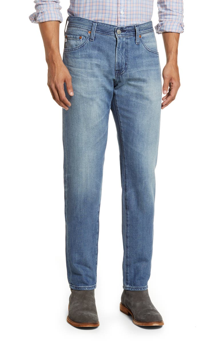 AG Tellis Slim Fit Jeans, Main, color, 15 YEARS PONZA