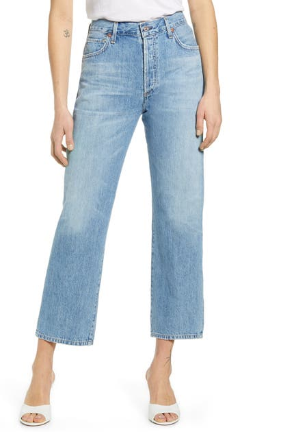 Citizens Of Humanity EMERY HIGH WAIST RELAXED CROP JEANS