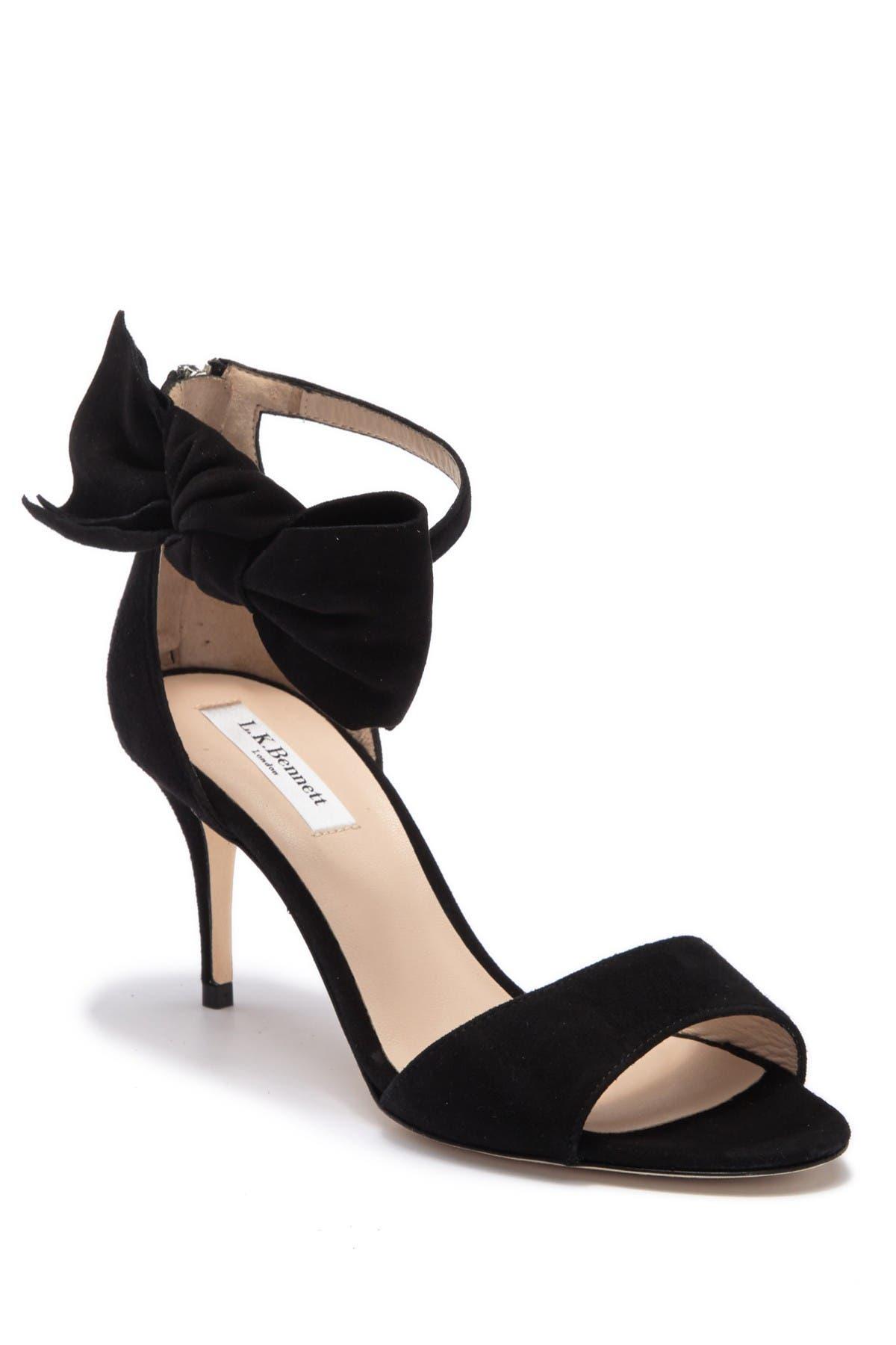 Image of L.K. Bennett Agata Ankle Tie Sandal