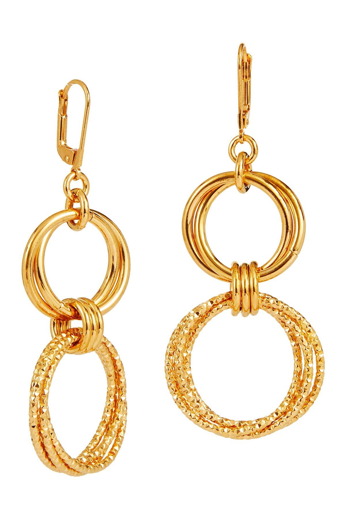 Image of Savvy Cie Italian Multi Link Drop Earring