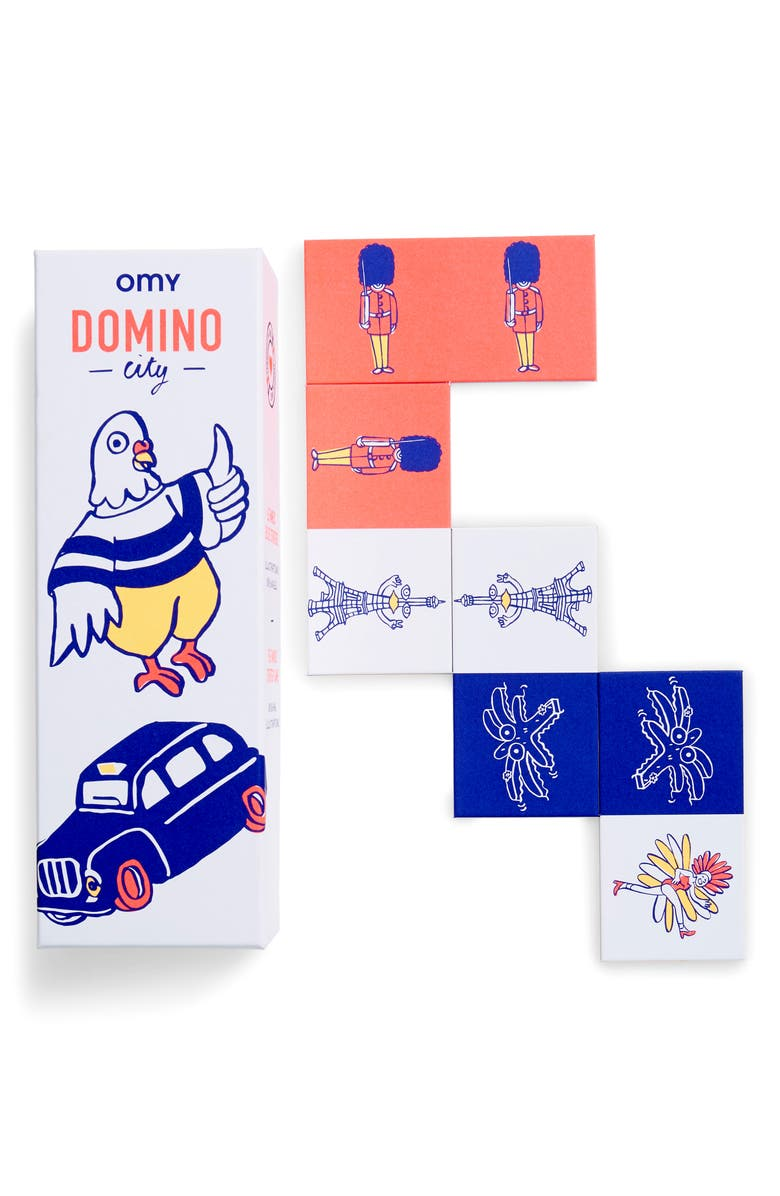OMY Domino City Game, Main, color, 100