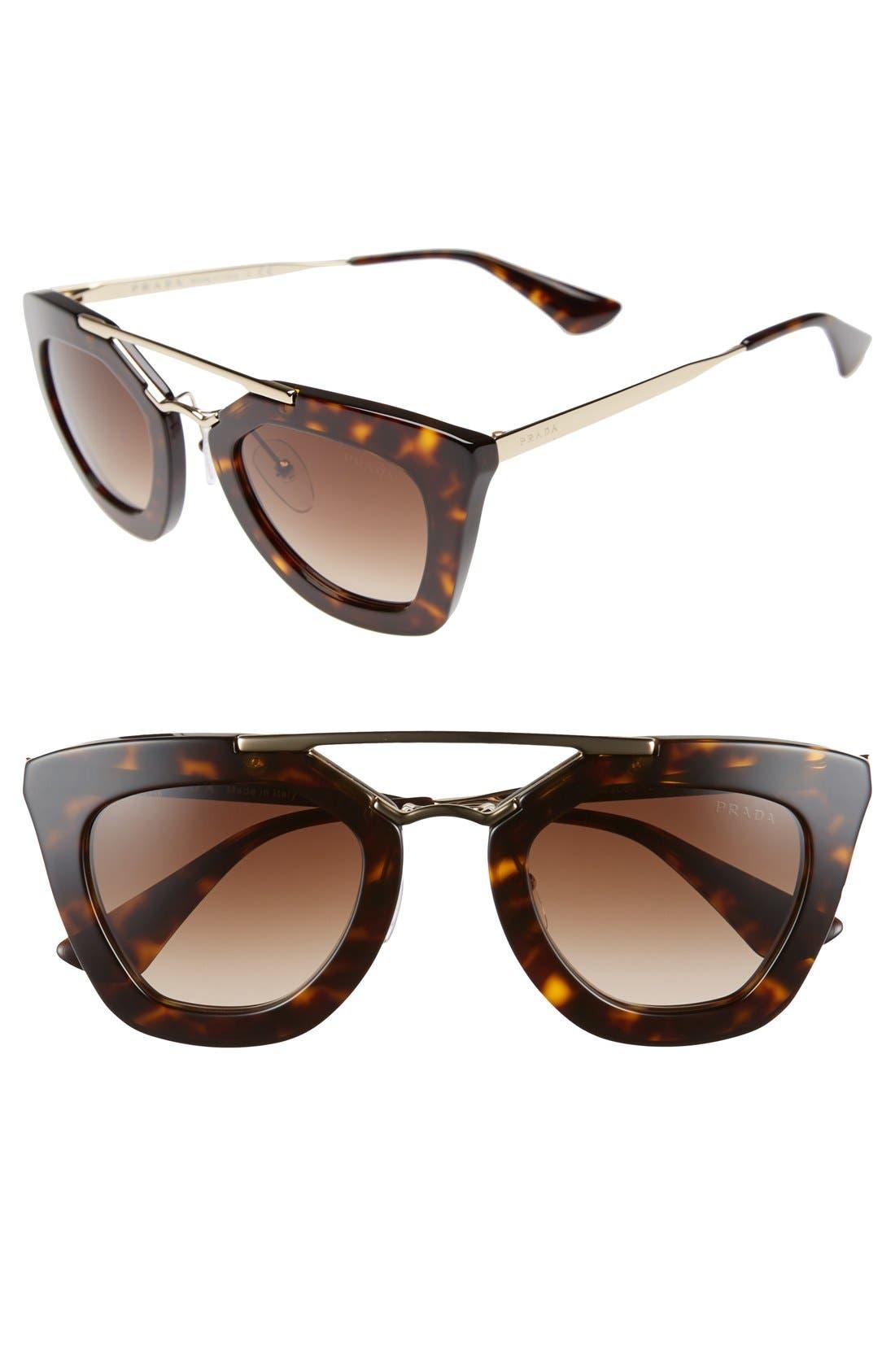 ,                             49mm Retro Sunglasses,                             Main thumbnail 2, color,                             200