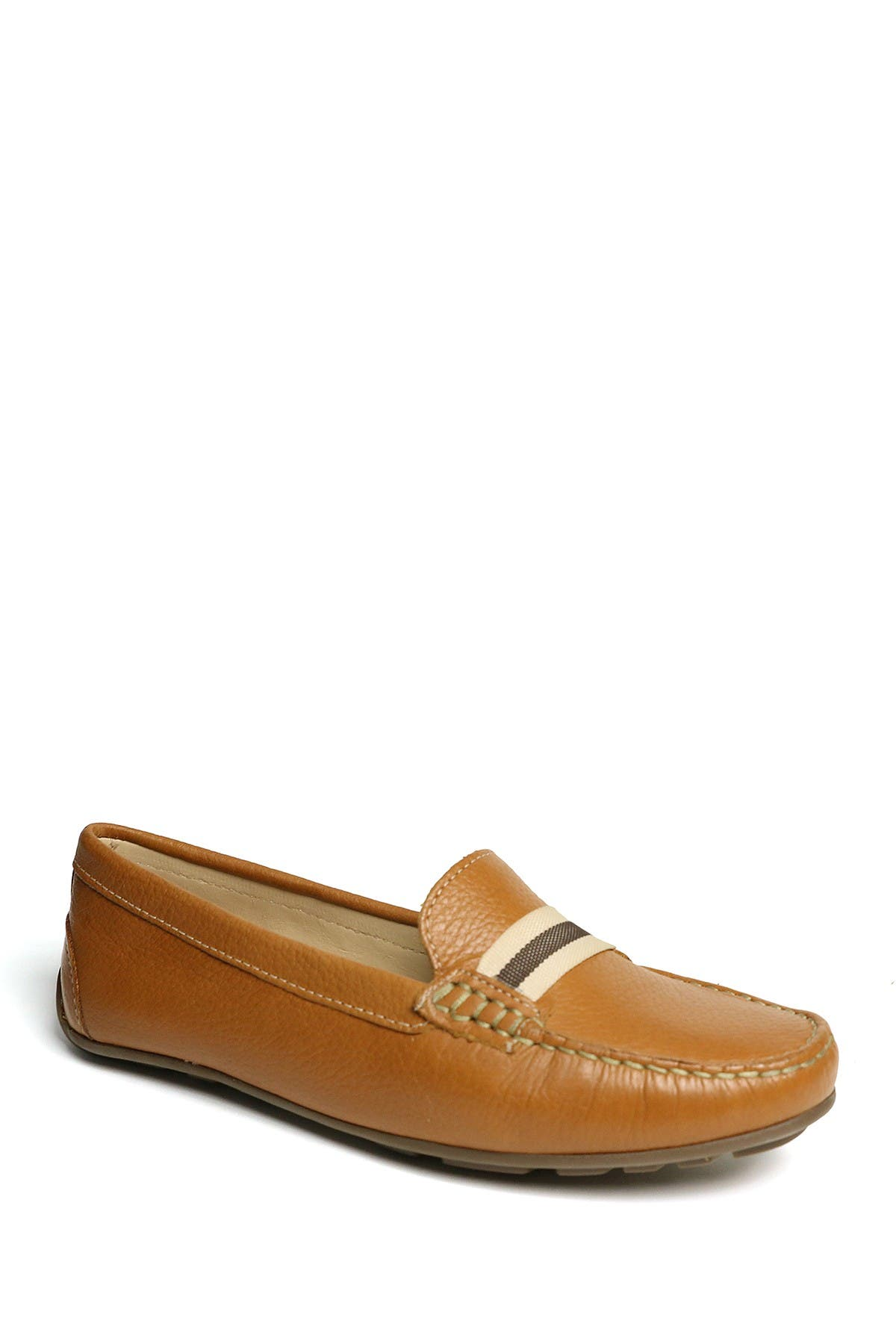 Image of Marc Joseph New York Mulberry 2 Grow Grain Driving Loafer