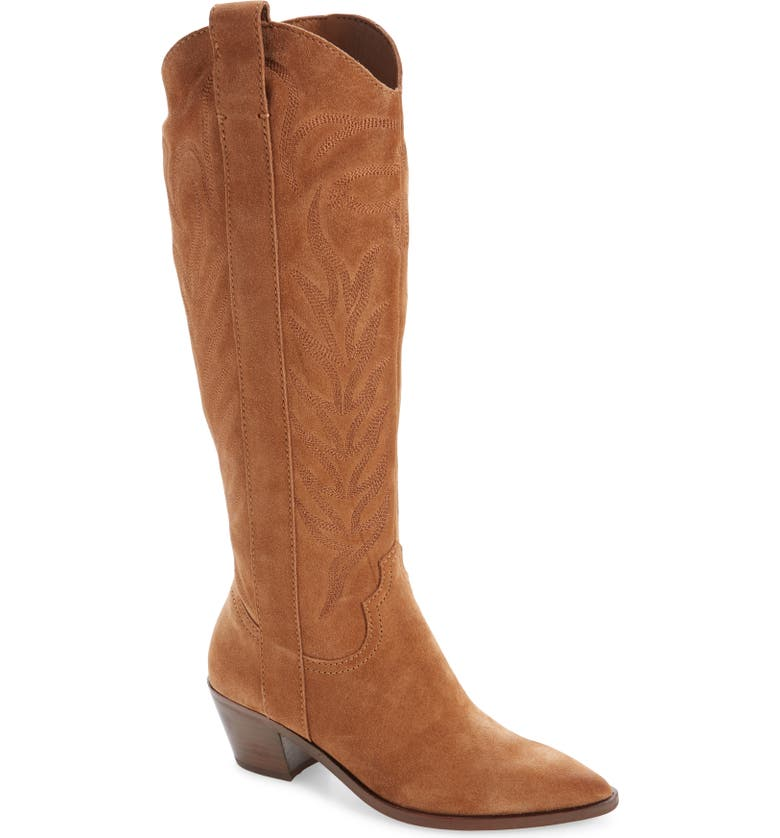 DOLCE VITA Solei Western Boot, Main, color, BROWN