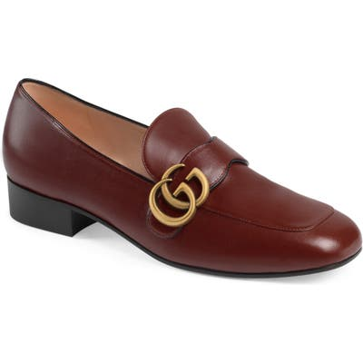 Gucci Marmont Loafer, Red