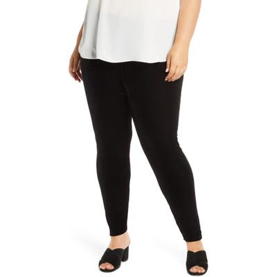 Plus Size Eileen Fisher Ankle Leggings, Black