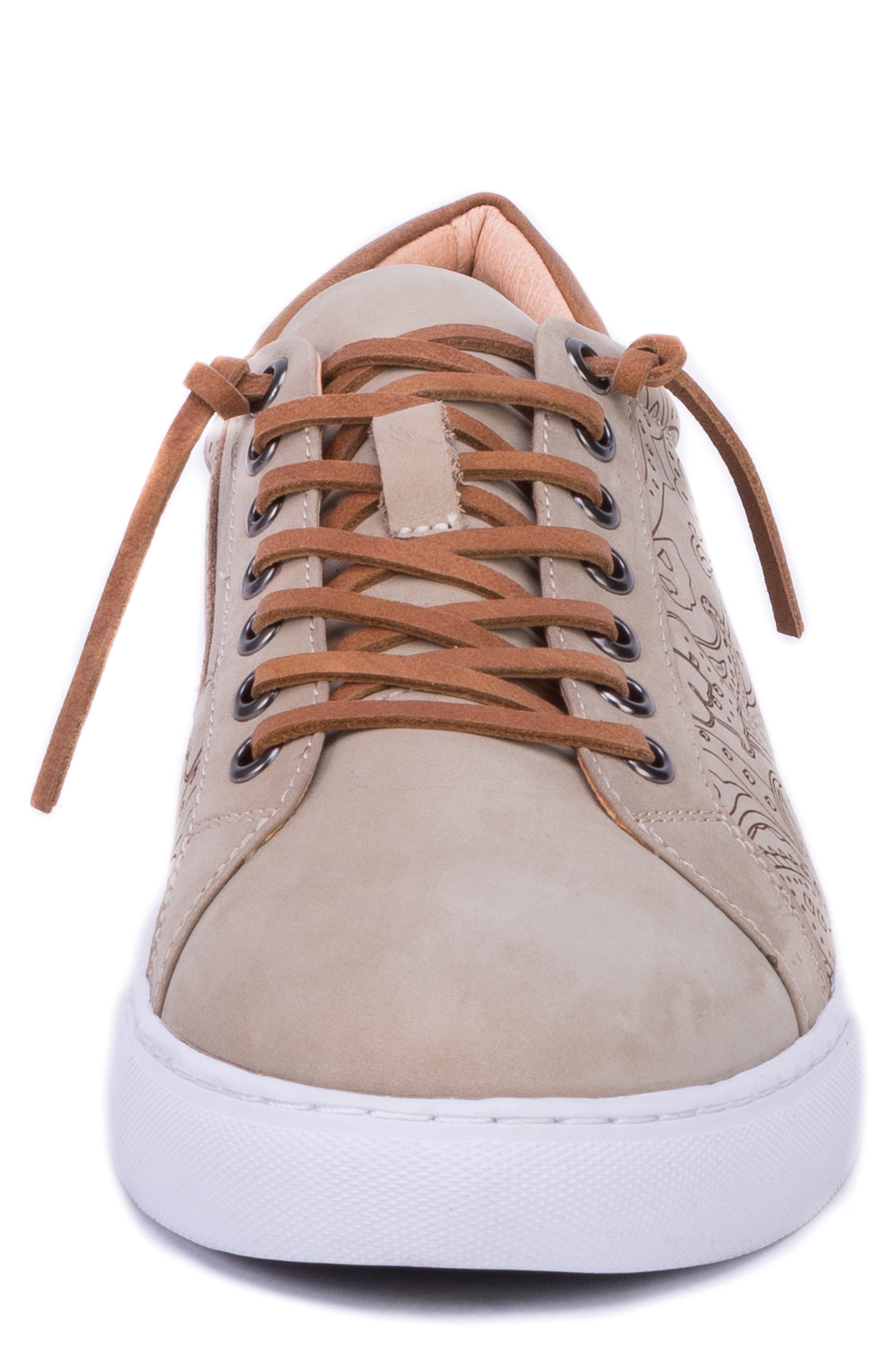 ,                             Lima Sneaker,                             Alternate thumbnail 4, color,                             SAND LEATHER