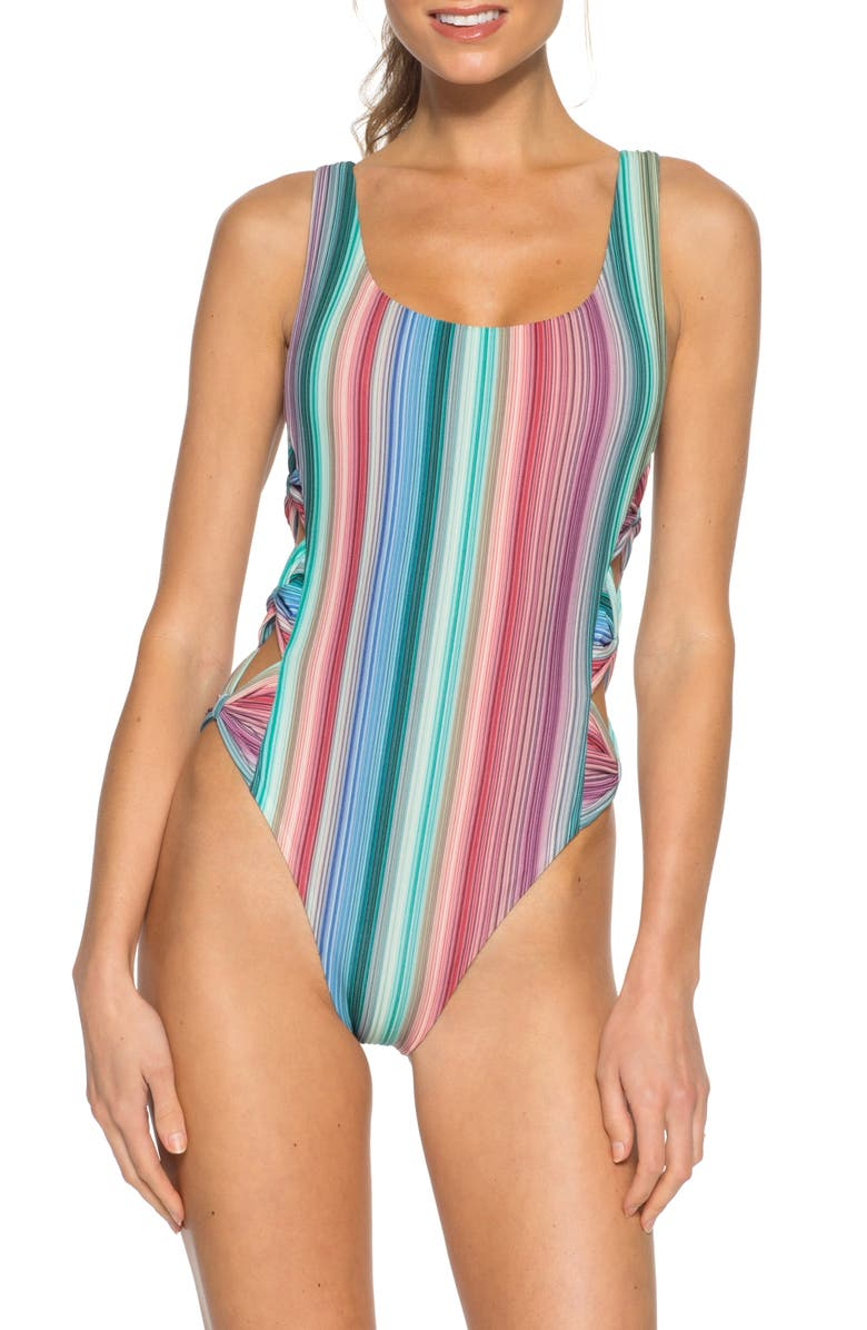 ISABELLA ROSE Adelaide One-Piece Swimsuit, Main, color, MULTI