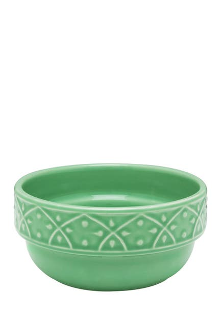 Image of Manhattan Comfort Mendi 6 Large 16.91 oz. Dinner Soup Bowls - Green