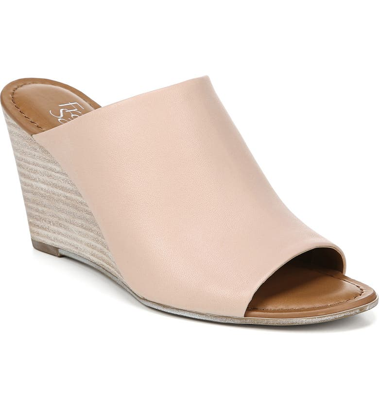 FRANCO SARTO Yasmina Slide Sandal, Main, color, BLUSH LEATHER