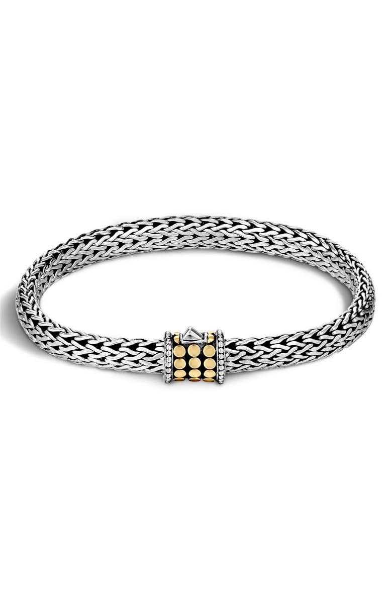 JOHN HARDY Dot 6.5mm Bracelet, Main, color, STERLING SILVER