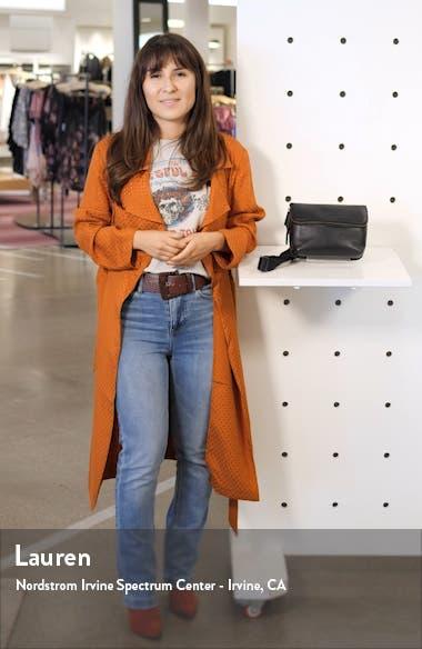 Brianna Leather Belt Bag, sales video thumbnail