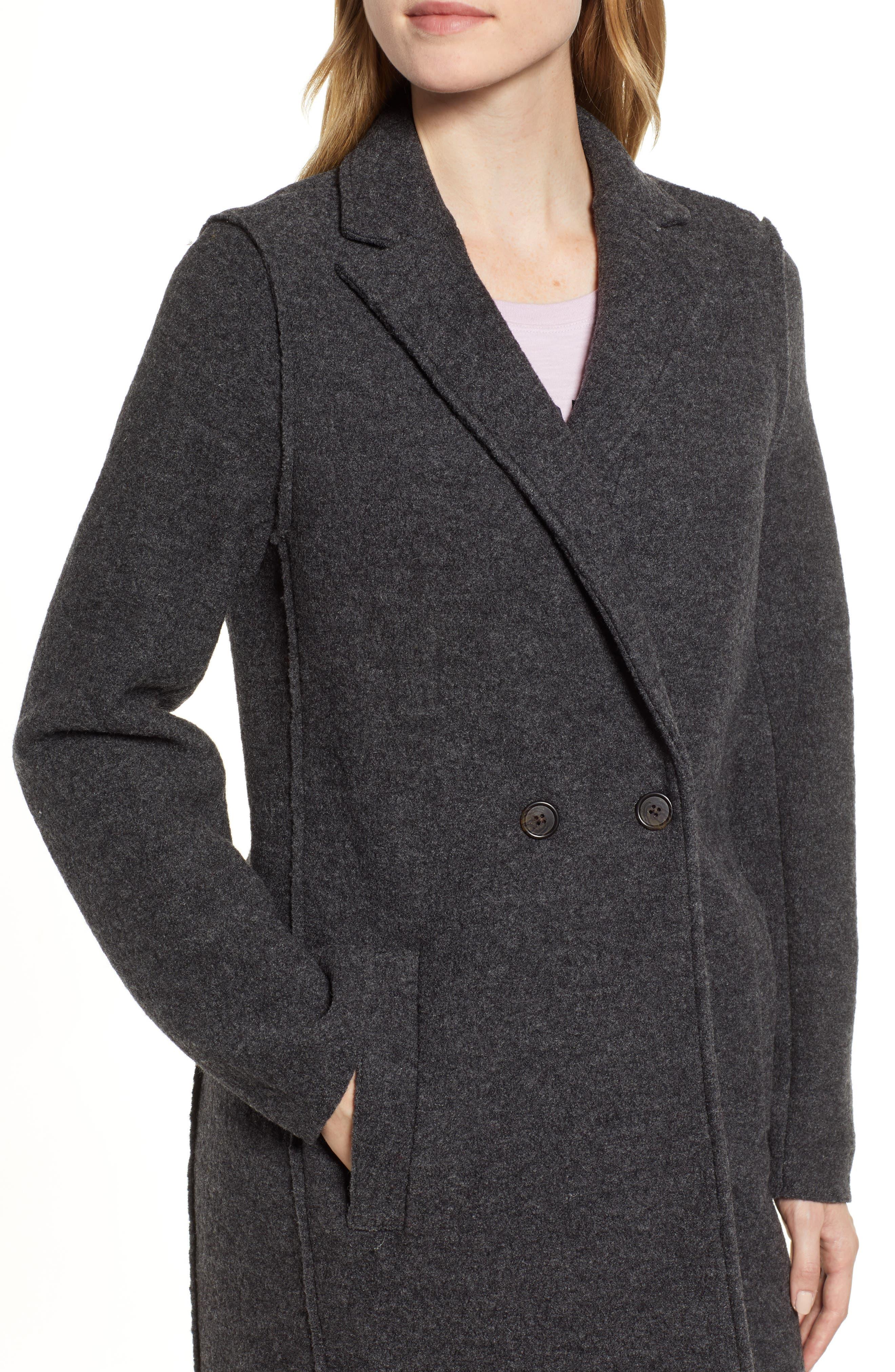 ,                             Daphne Boiled Wool Topcoat,                             Alternate thumbnail 13, color,                             022