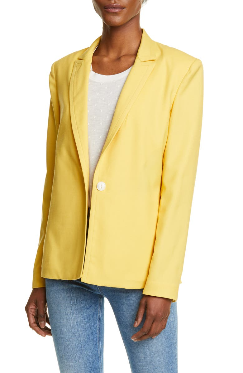 RAG & BONE Bonnie Wool Blend Blazer, Main, color, 730