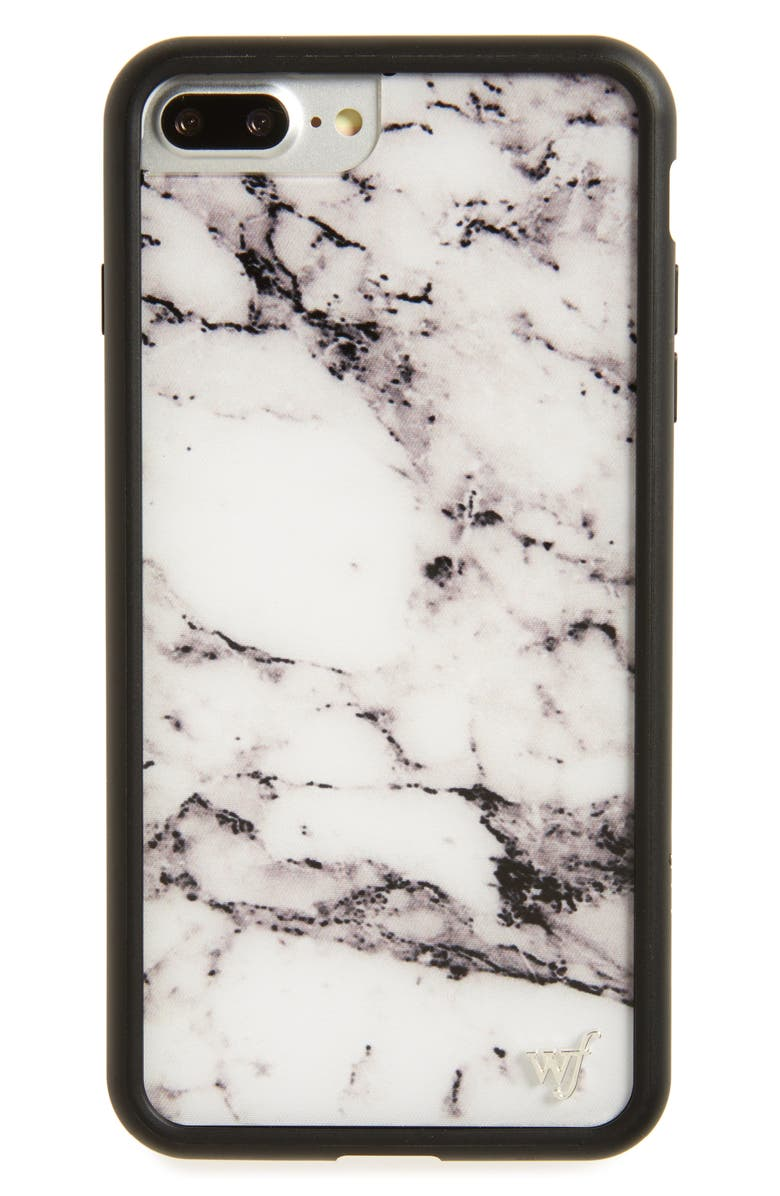 WILDFLOWER Marble iPhone 7 Plus Case, Main, color, 100