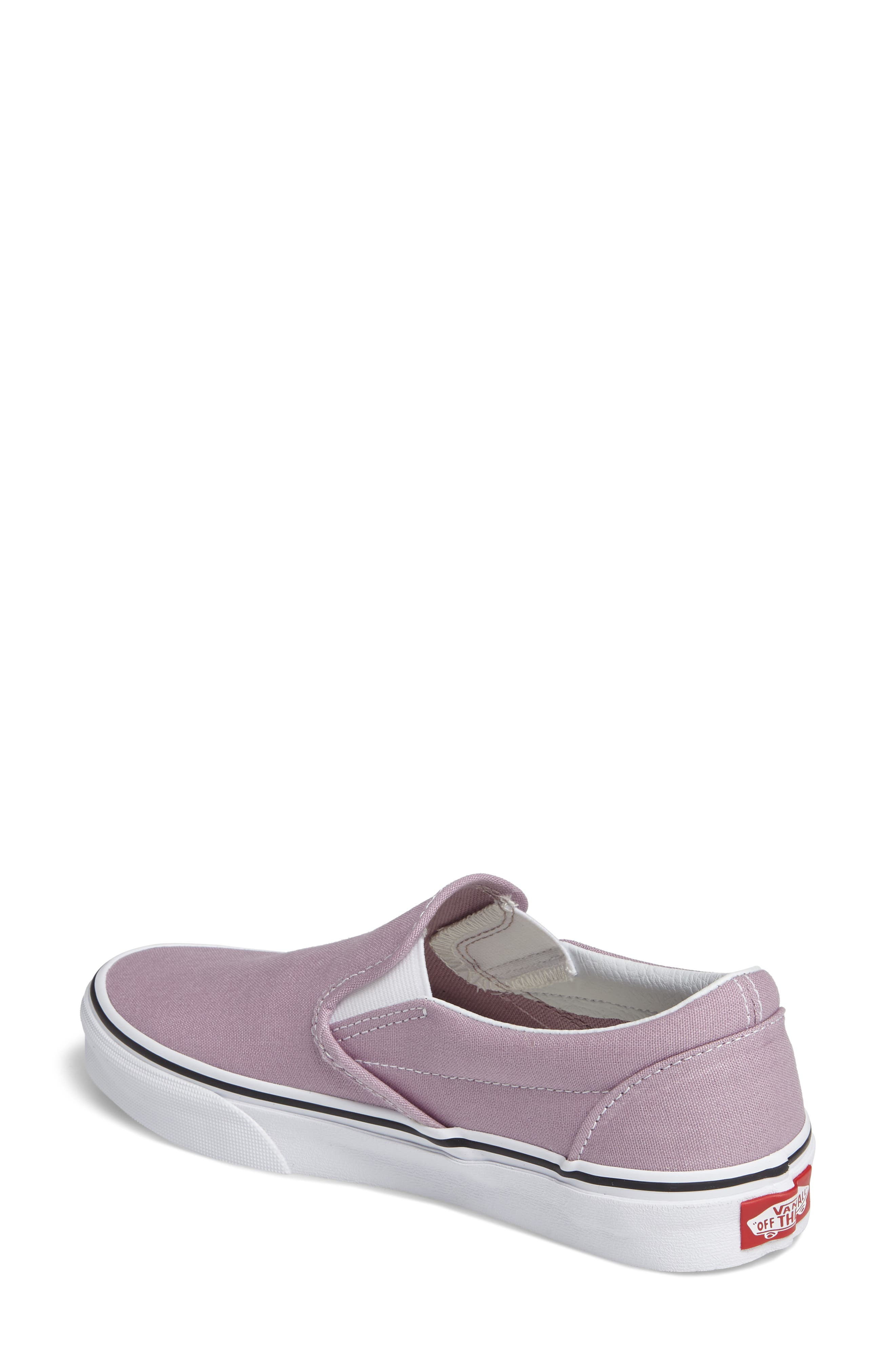 ,                             Classic Slip-On Sneaker,                             Alternate thumbnail 373, color,                             555