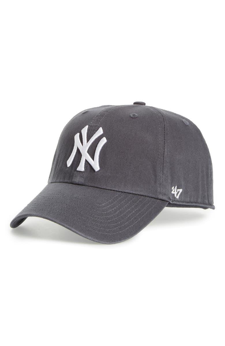'47 Clean Up NY Yankees Baseball Cap, Main, color, 400