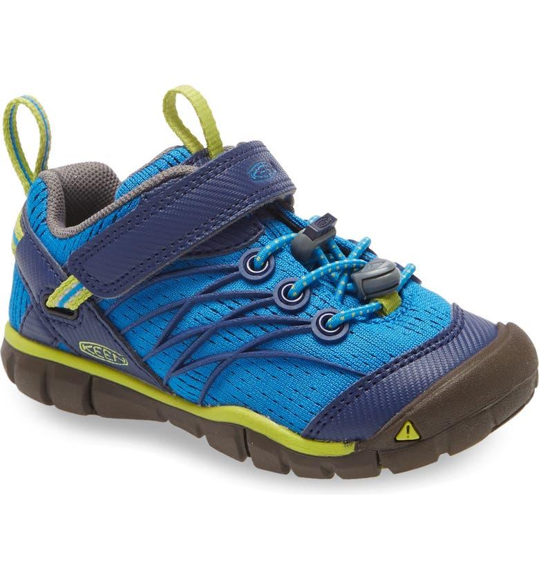 KEEN Chandler CNX Sneaker, Main, color, BRILLIANT BLUE/ BLUE DEPTHS