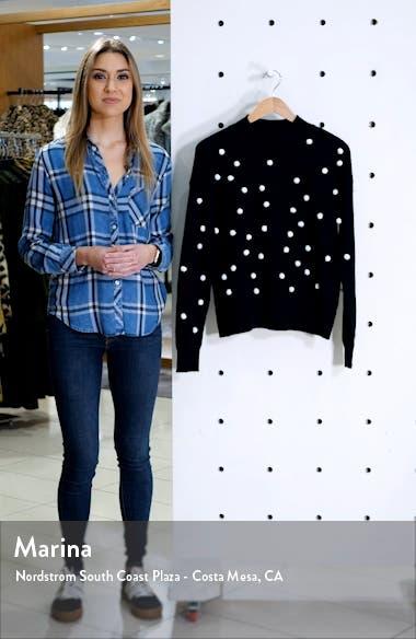 Pompom Mock Neck Sweater, sales video thumbnail
