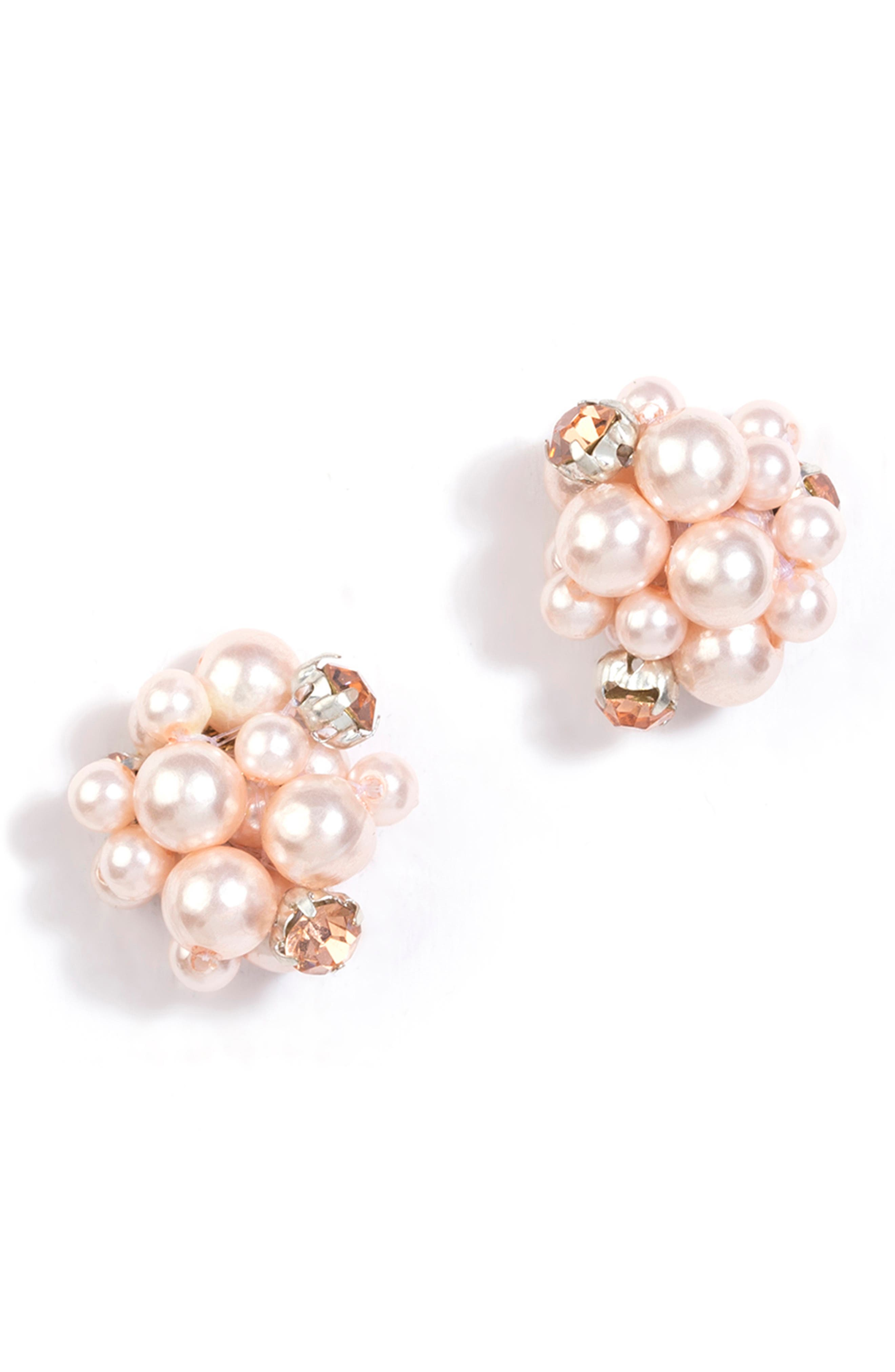 Shefali Imitation Pearl Earrings