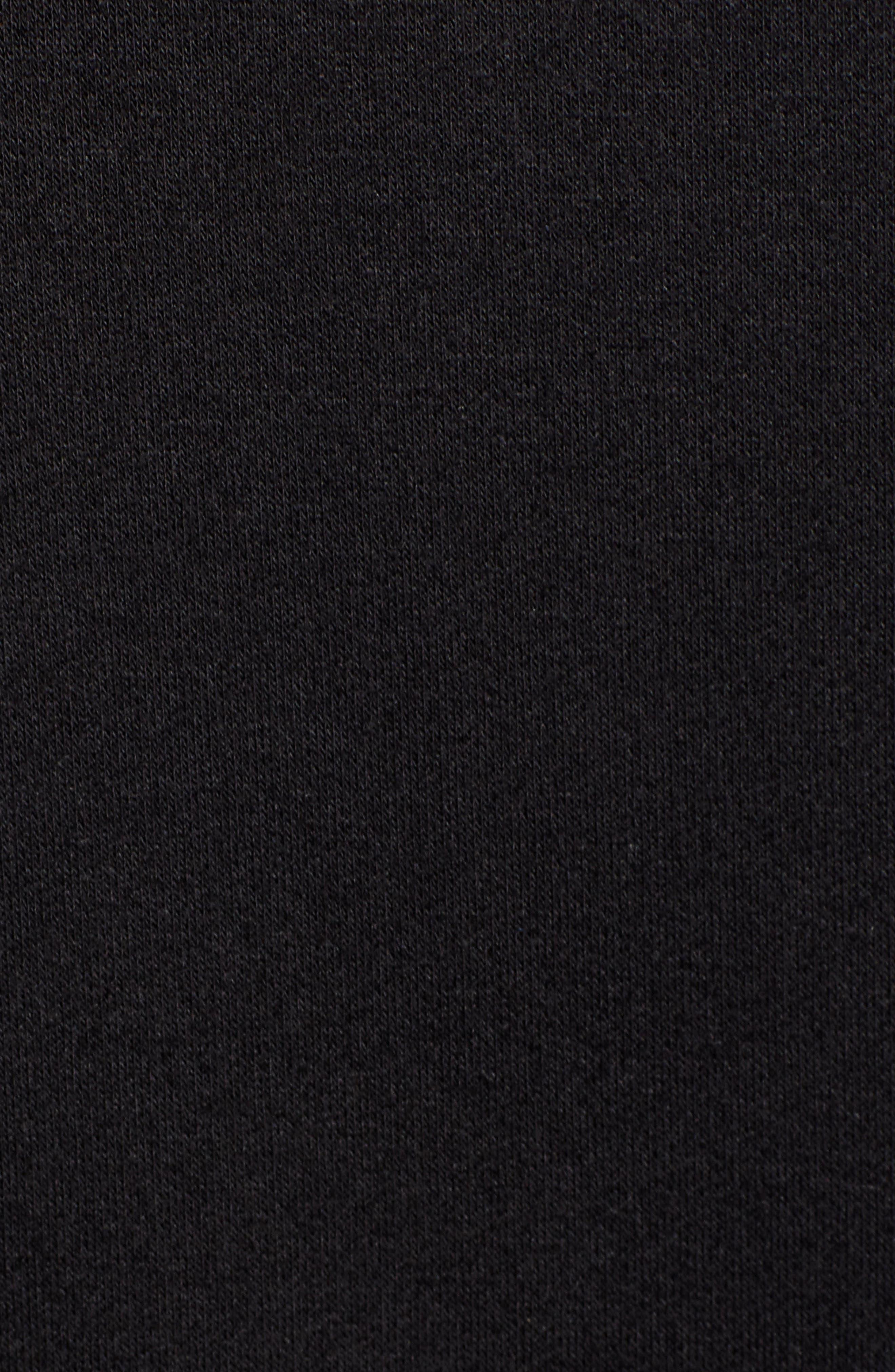 ,                             Crop Half Zip Pullover,                             Alternate thumbnail 5, color,                             001