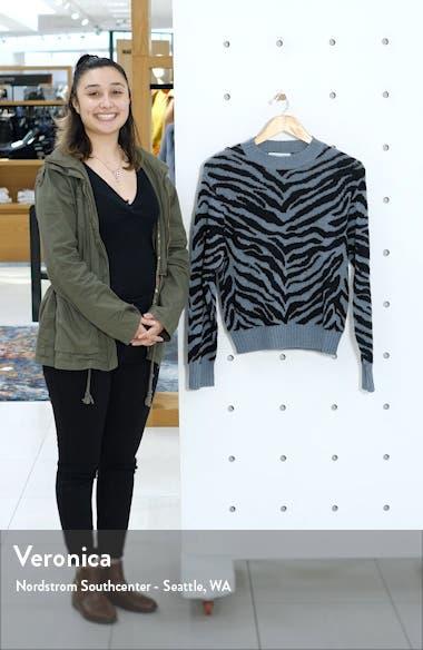 Jax Zebra Jacquard Sweater, sales video thumbnail