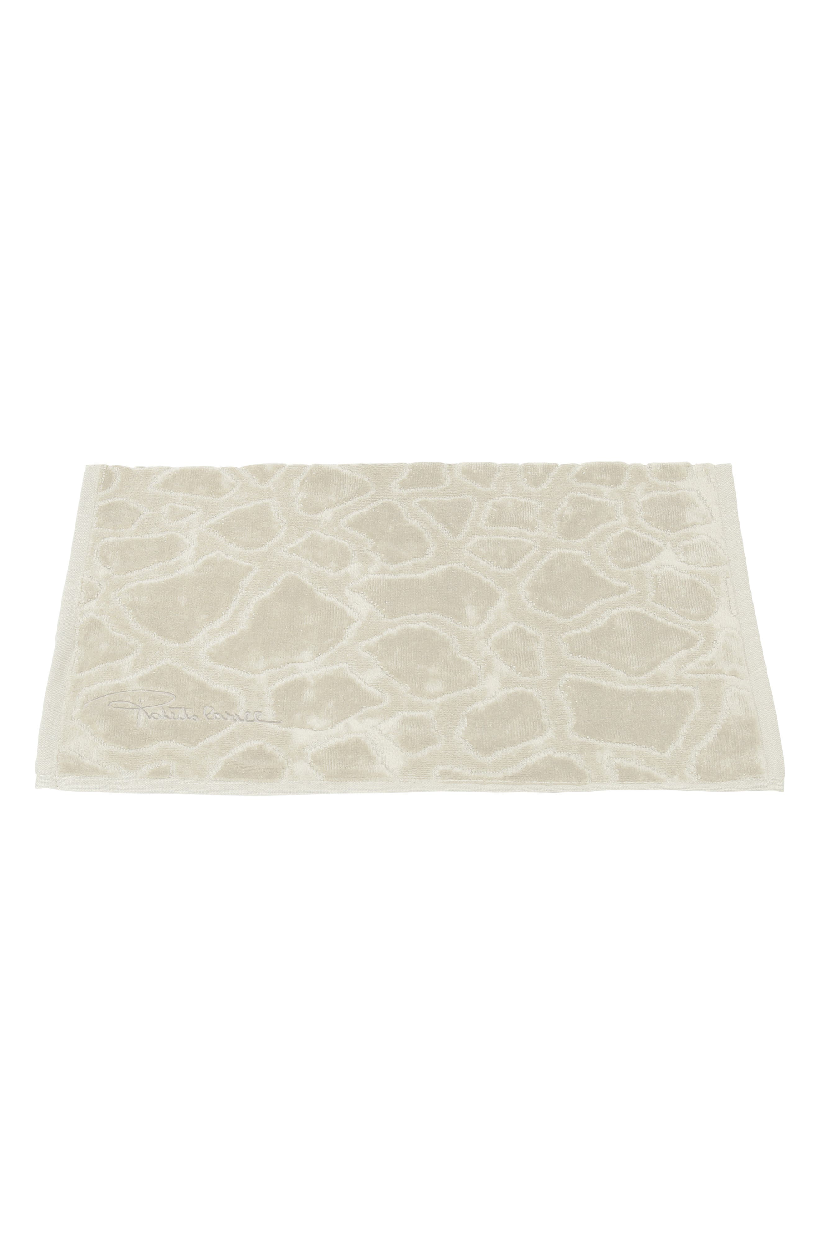 Roberto Cavalli Jerapha Hand Towel Size One Size  Ivory