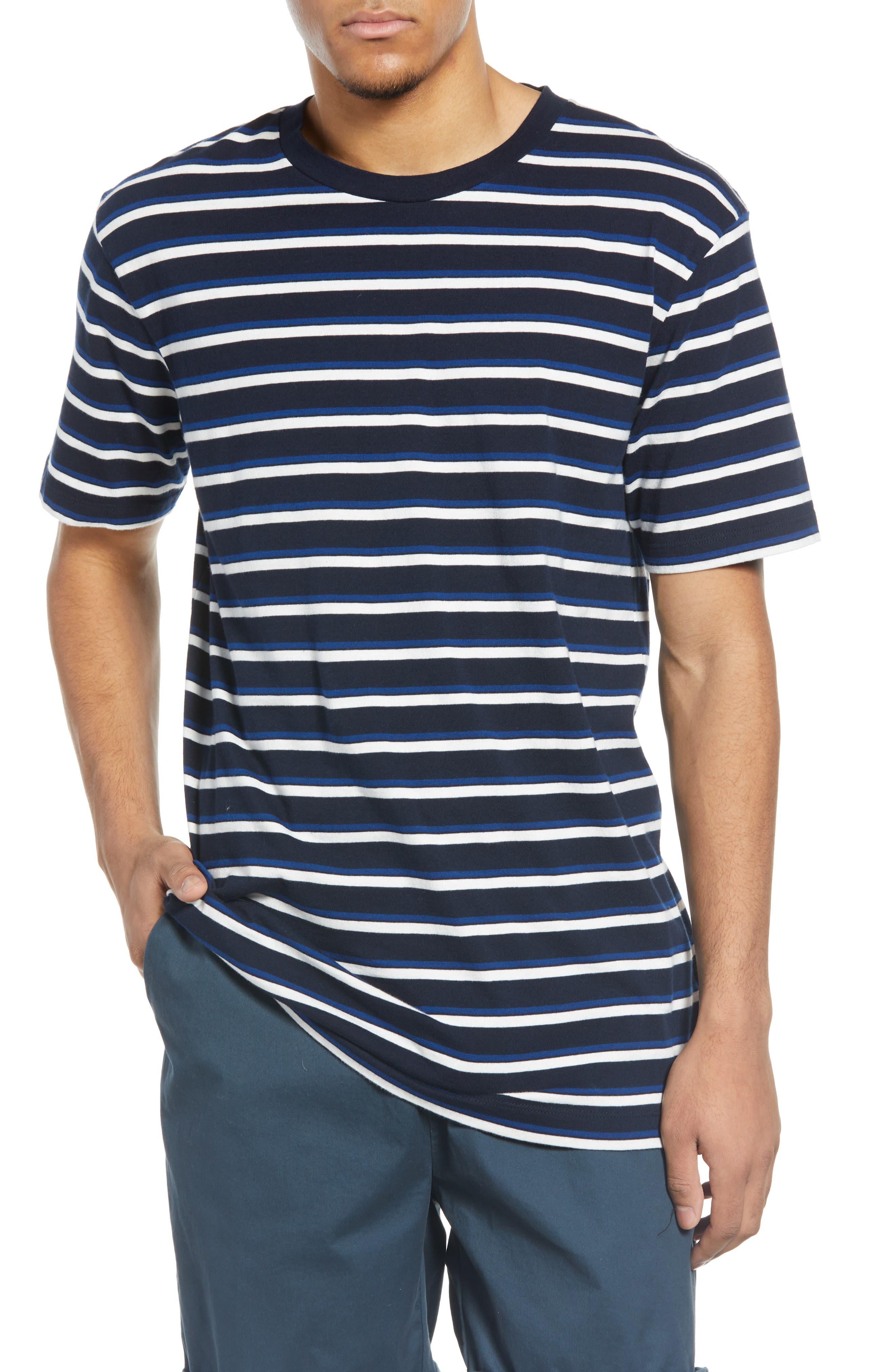 Image of Scotch & Soda Longline Crewneck T-Shirt
