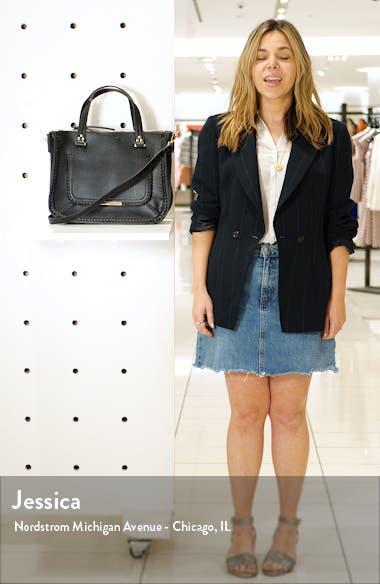 Dayla Faux Leather Satchel, sales video thumbnail
