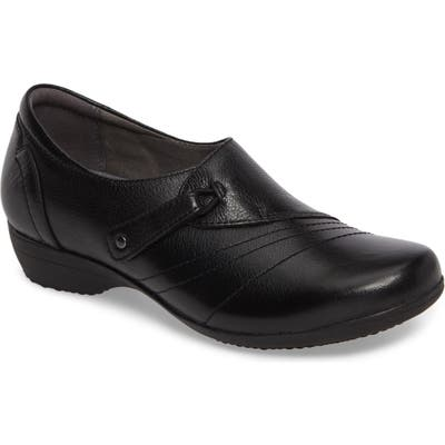 Dansko Franny Loafer- Black
