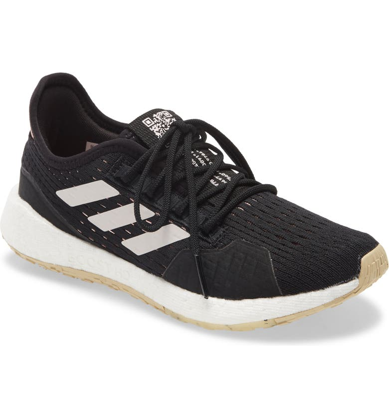 ADIDAS PulseBoost HD Summer.RDY Running Shoe, Main, color, BLACK/ ECHO PINK/ NEW ROSE
