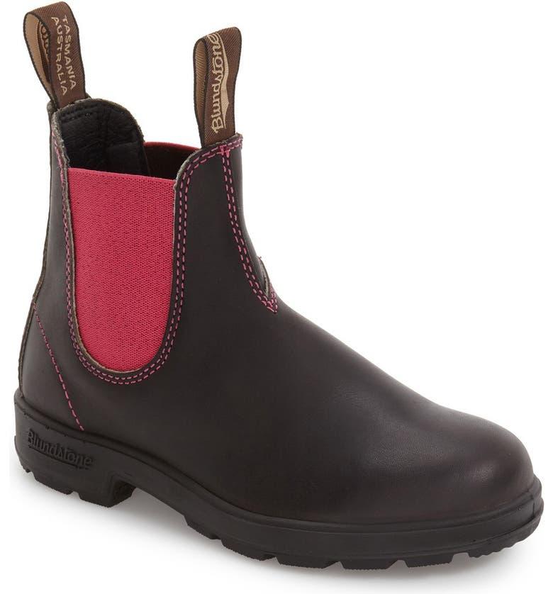 BLUNDSTONE FOOTWEAR 'Original - 500 Series' Water Resistant Chelsea Boot, Main, color, 200