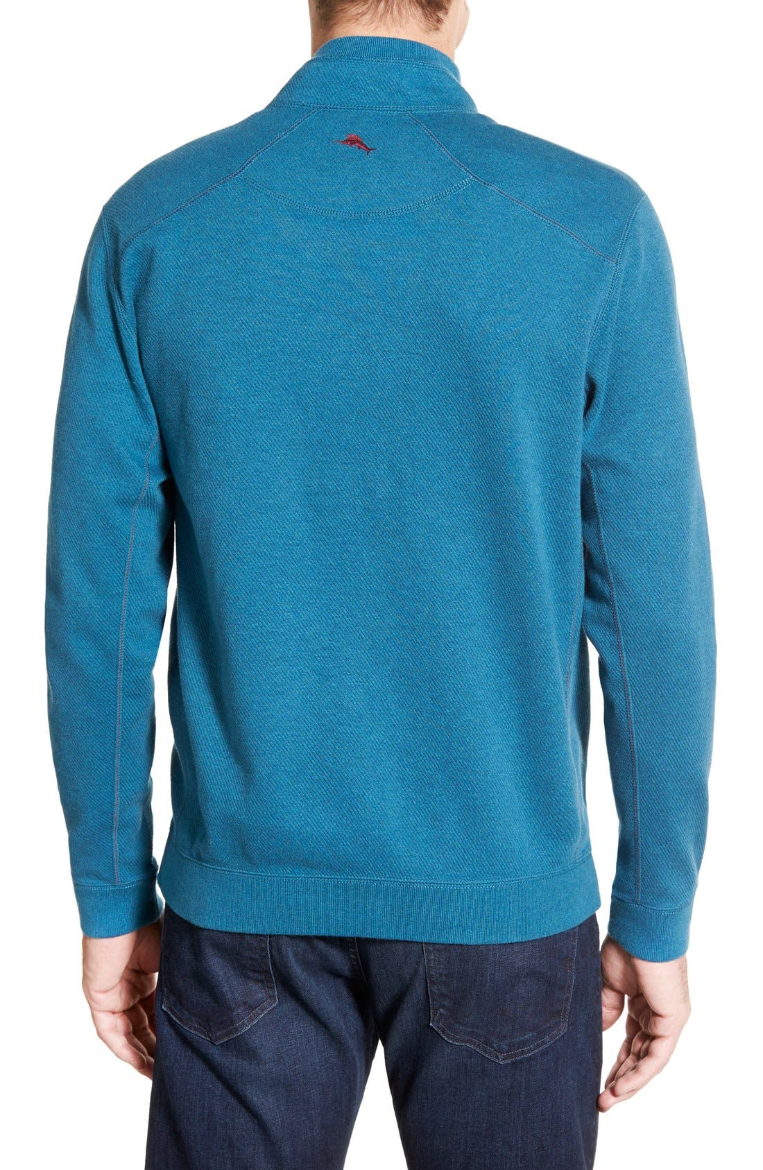 ,                             'Flip Side' Reversible Quarter Zip Pullover,                             Alternate thumbnail 8, color,                             001