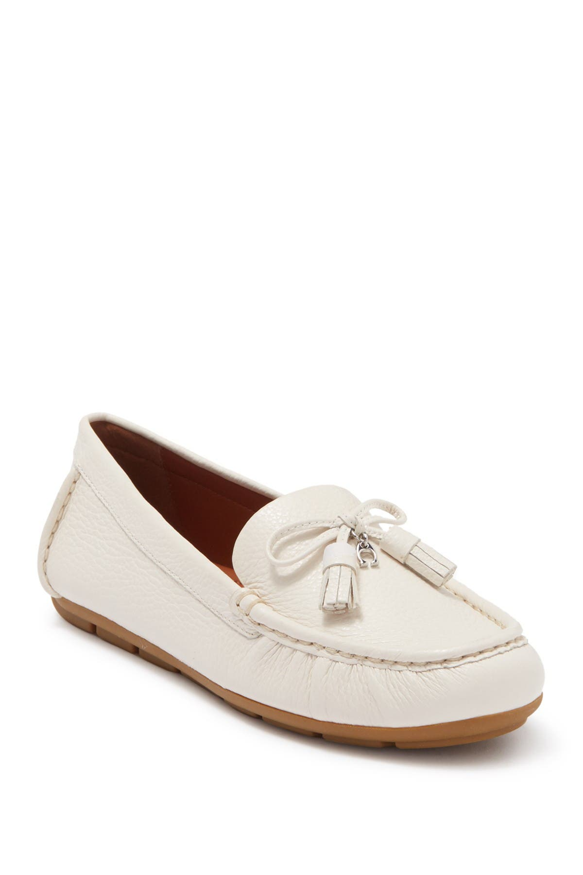 Image of Coach Minna Leather Loafer