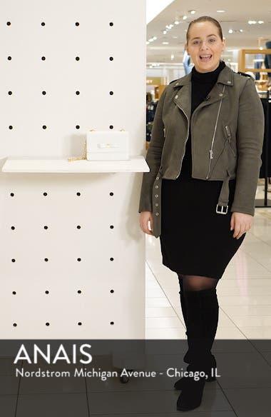 Jayllaa Bow Leather Crossbody Bag, sales video thumbnail